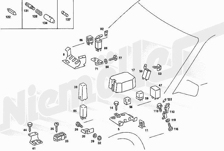 mercedes 123 fuse box  mercedes  auto wiring diagram