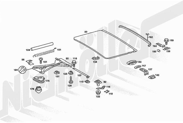 schiebedach mechanisch 240td mercedes benz w123 kombi. Black Bedroom Furniture Sets. Home Design Ideas